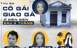 [Infographic] Vụ án nữ sinh giao gà ở Điện Biên tròn 4 tháng, bắt 10 nghi phạm