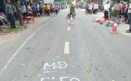 Bị xe ben tông từ phía sau, một học sinh lớp 4 tử vong tại chỗ