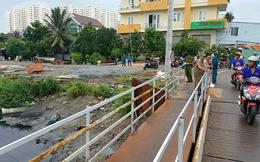 Phát hiện thi thể người phụ nữ trên khối bê tông dưới kênh ở Sài Gòn