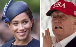 """Nghỉ thai sản, Meghan Markle vẫn """"đá"""" chị dâu Kate ra khỏi danh sách phụ nữ quyền lực và lý do thực sự khiến cô không gặp mặt ông Trump"""