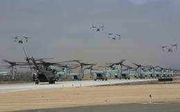 Màn biểu dương lực lượng hoành tráng của Không quân Thủy quân lục chiến Mỹ