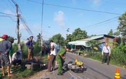 Va chạm với xe máy đi giao vịt, người đàn ông ngã xuống đường tử vong tại chỗ