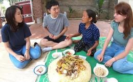 Bà Tân Vlog ăn mừng đạt huân chương kỷ lục Việt Nam, cùng 3 người cháu đến từ Hàn, Nhật, Nga làm đĩa xôi gà khổng lồ