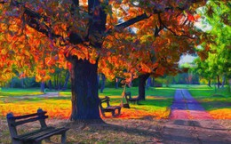 Màu sắc mà bạn thấy ấn tượng nhất trong bức tranh khung cảnh sẽ tiết lộ điều khiến mọi người luôn yêu quý bạn