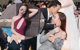 Phản ứng của Đàm Thu Trang khi bị đồn có bầu với Cường Đô la trước ngày cưới