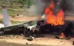 Máy bay rơi ở Khánh Hòa: Hai phi công hy sinh gồm 1 giáo viên bay và 1 học viên