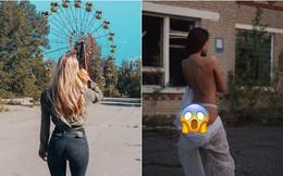 Đến 'vùng đất chết chóc' Chernobyl chụp ảnh sau cơn sốt phim trên HBO, cô gái khiến mọi người 'nhức mắt' vì hành động phản cảm