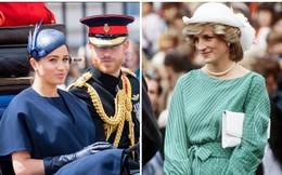 """Tuyên bố mới gây sốc: Meghan Markle """"đánh bại"""" Công nương Diana ở một điểm mà ai cũng nhận ra và nhận ân sủng mới từ Nữ hoàng"""
