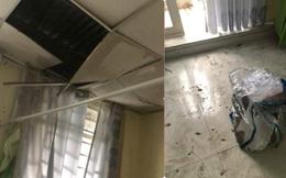 """Sụp cả trần nhà chỉ vì một bịch rác và lời """"kêu cứu"""" khiến dân mạng ngao ngán"""