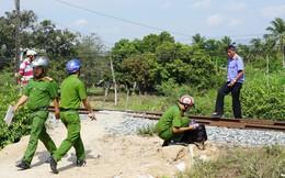 Hai thanh niên trộm thiết bị đường sắt của đường tàu Bắc Nam
