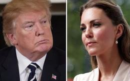 Không chỉ nói về Meghan, Tổng thống Trump từng phát biểu nhạy cảm về Công nương Kate trong vụ bê bối để lộ ngực trần của nàng dâu hoàng gia