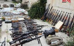 Syria: Bí mật bên trong kho vũ khí lớn của khủng bố mới được phát hiện ở Hama, Dara'a