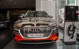 Tận mục chiếc SUV Audi chạy hoàn toàn bằng điện đầu tiên về Việt Nam