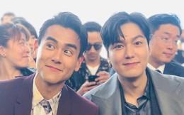 """Đẹp trai chẳng ai dám chê nhưng Lee Min Ho bất ngờ bị """"lấn át"""" khi chung khung hình ngôi sao xứ Trung"""