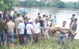 Tìm thấy thi thể hai bà cháu bị lật thuyền trên sông Cửu Yên