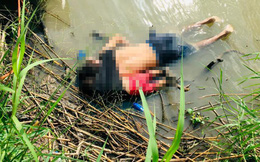 Bức ảnh cha con người di cư chết đuối ở biên giới Mỹ - Mexico gây sốc
