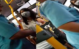 """Thanh niên đứng """"tự sướng"""" trên xe buýt sau lưng cô gái bị phạt 200.000 đồng"""