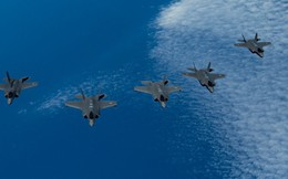 Viễn cảnh kinh hoàng: Tiêm kích F-35 liên quân Anh-Mỹ-Israel đồng loạt đánh phủ đầu Iran
