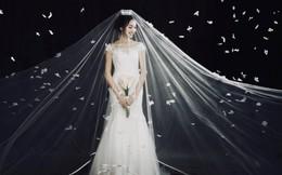 """Bạn gái tin đồn của Phan Văn Đức diện váy cưới, thả thính siêu ngọt ngào: """"Anh muốn về nhà với em không?"""""""