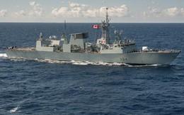"""Truyền thông Trung Quốc nói phi cơ chiến đấu của họ """"đón tiếp nồng hậu"""" chiến hạm Canada"""