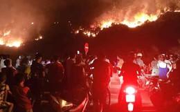 Bắt giam người đàn ông gây vụ cháy rừng lớn nhất Hà Tĩnh suốt 4 ngày