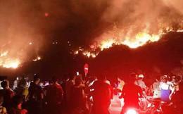 Lộ danh tính người đàn ông bị công an tạm giữ nghi gây ra vụ cháy rừng lớn nhất Hà Tĩnh