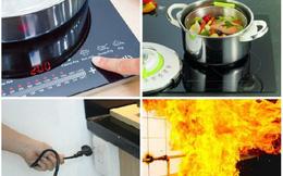Sai lầm khi sử dụng bếp từ có thể khiến cả nhà 'gặp họa' - bỏ ngay kẻo hối không kịp