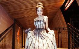 Nhan sắc quyến rũ của người đẹp xứ Thanh khi diện đầm công chúa