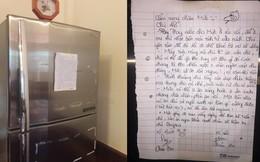 Đọc 'Cẩm nang chăm chó' dán trên tủ lạnh, người chú phì cười vì lời 'đe dọa' của 2 đứa cháu