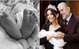 Cựu vương Malaysia và vợ hoa hậu Nga có con đầu lòng