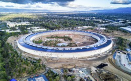 Hoá ra trụ sở phi thuyền của Apple không nằm trên mặt đất