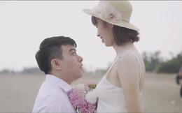 """Chuyện tình chàng 1m50, nàng 1m70 và bộ ảnh cưới khiến nhiếp ảnh """"đau đầu"""""""