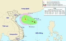 Dự báo thời tiết: Vùng áp thấp phức tạp có thể di chuyển về đất liền