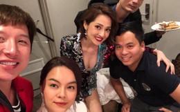"""Lần đầu tiên sau tin đồn tình địch, Phạm Quỳnh Anh và Bảo Anh chụp hình chung nhưng biểu cảm của ca sĩ """"đàn chị"""" thật khó hiểu"""