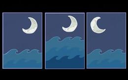 Chọn một hình ảnh Mặt trăng và biển cả bạn thấy ấn tượng nhất để khám phá những điều sâu thẳm trong con người mình