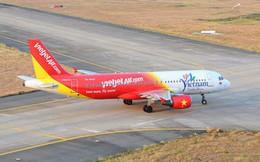 Máy bay Vietjet đi nhầm vào đường lăn đang đóng tại Tân Sơn Nhất lúc rạng sáng