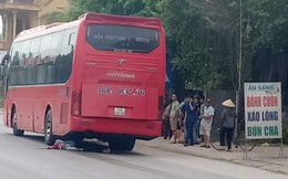 Thanh Hóa: Cụ ông 80 tuổi bị xe khách kéo lê tử vong