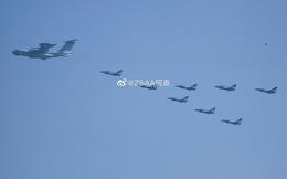 Không quân Trung Quốc biểu dương lực lượng hoành tráng trước lễ duyệt binh