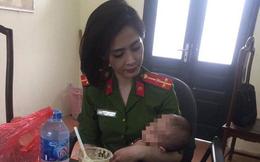 Hà Nội: Giải cứu người đàn ông bế con gái 7 tháng tuổi ngồi vắt vẻo trên thành cầu Nhật Tân