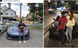 Cư dân mạng 'ném đá' bé trai chụp ảnh bên siêu xe người lạ và phản ứng gây sốc của chủ xe