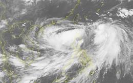 Bão Danas giật cấp 10, gây sóng to gió lớn vùng đông bắc Biển Đông