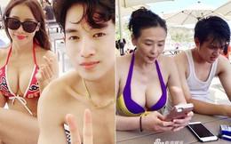 """Nhan sắc của các người đẹp châu Á lấy chồng """"đáng tuổi cháu"""""""