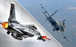 Gặp F-16 Pakistan, tiêm kích Su-30 bỏ chạy: Chê tên lửa Nga rởm - Hành động trò hề của Ấn!