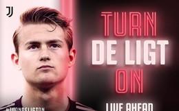 """""""Soái ca áo trắng"""" De Ligt chính thức cập bến Juventus, đặt bút vào bản hợp đồng trị giá gần 2.000 tỉ VNĐ"""