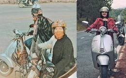 Chàng trai đưa mẹ và em gái đi phượt bằng xe máy 400 triệu khiến nhiều người trầm trồ