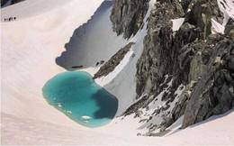 Xuất hiện hồ tuyệt đẹp trên dãy núi Alps: Dấu hiệu đáng báo động