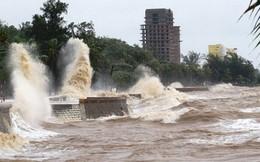 Áp thấp nhiệt đới sẽ mạnh lên thành bão đang tiến vào Quảng Ninh, Hải Phòng