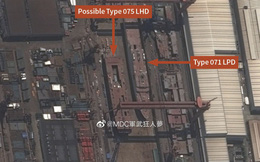 Tàu đổ bộ Type 075 thứ hai của Trung Quốc đã khởi đóng, tốc độ nhanh hơn tàu sân bay