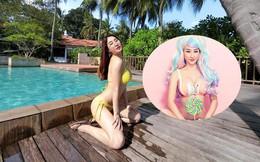 Loạt ảnh bikini nổi loạn của nữ DJ nóng bỏng, nổi tiếng nhất nhì Việt Nam