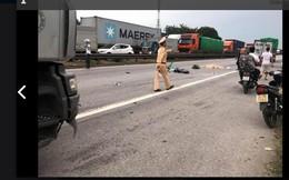 Hải Dương: Xe tải chở nước đè 5 người tử vong khi đứng chờ sang đường